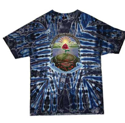 Grateful Dead Rose Garden Tie Dye T-shirt