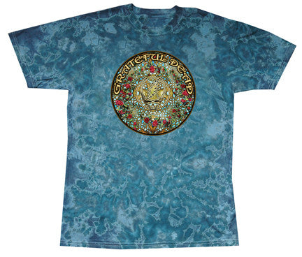 Grateful Dead 40 Roses Tie Dye T-shirt
