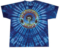 Grateful Dead Skull and Roses Tie Dye T-shirt