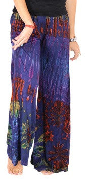 Tie Dye Wide Legged Pants