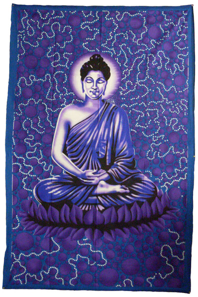 Bubble Buddha Tapestry
