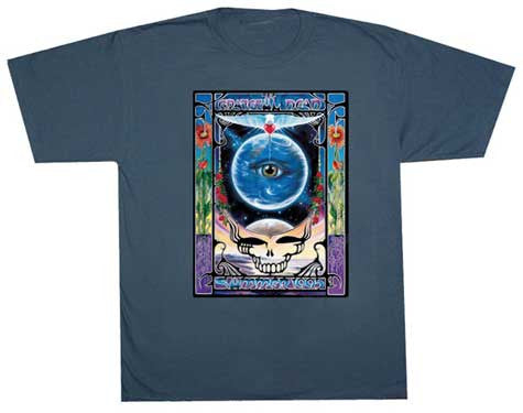 Grateful Dead Eyes Of The World Solid T-Shirt
