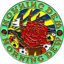 Grateful Dead Morning Dew Rose Hat Pin