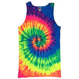 Tie Dyed Spider Tank Top