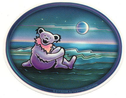 Waterside Bear Sticker