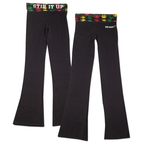 Bob Marley Stir It Up Yoga Pants