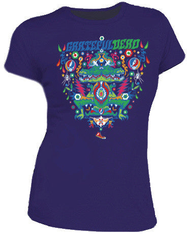 Grateful Dead Womens Aliigator T Shirt