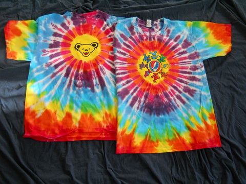 Grateful Dead Circle Bears Tie dye T-Shirt