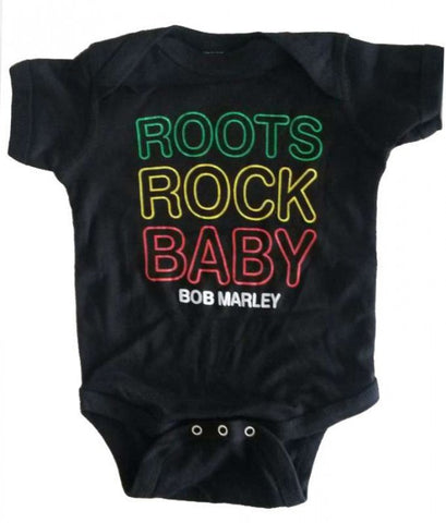 Bob Marley Roots Rock Baby Onesie