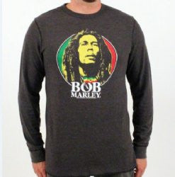 Bob Marley Rasta Thermal LS T-shirt