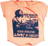 Bob Marley and The Wailers Raggae Revolution Women's T-Shirt