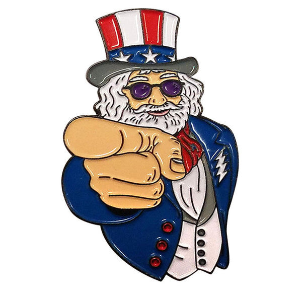 Uncle Jerry Wants You! Hat Pin