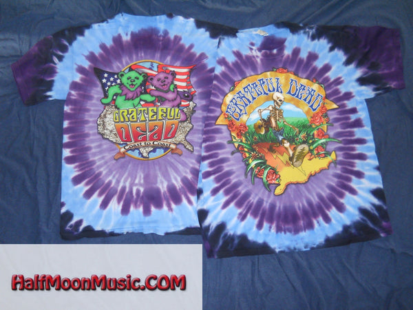Grateful Dead Coast To Coast Tie-Dye T-Shirt