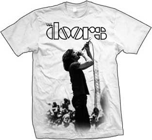 The Doors Jim Morrison Singing T-Shirt