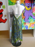 Womens Silky Paisley Maxi Dress