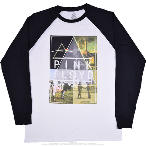 Men's Pink Floyd Classics Long Sleeve Raglan Shirt
