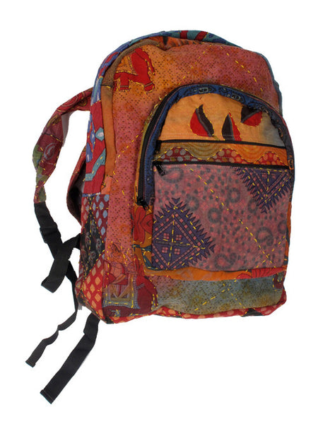 Indian Elephant Print Backpack