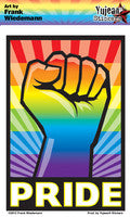 Fist W/ Pride Sticker
