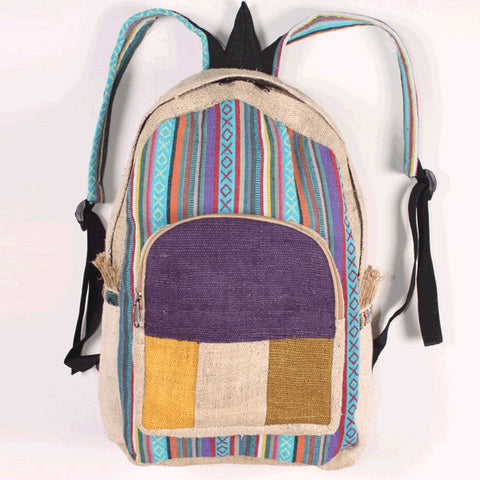 Cotton And Hemp Backpack