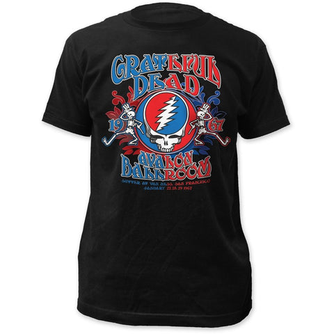 DISCONTINUED Grateful Dead Avalon Ballroom Jersey T-shirt