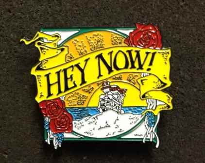 Grateful Dead Hey Now Hat Pin