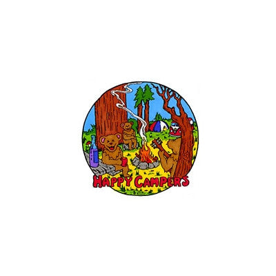 Happy Campers Grateful Dead Sticker