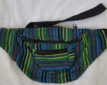 Colorful Weave Fanny Pack