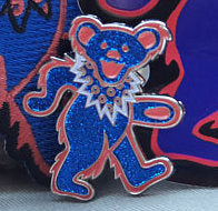 Phish Dancing Bear Hat Pin
