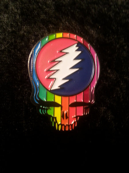 Grateful Dead Rainbow SYF Hat Pin