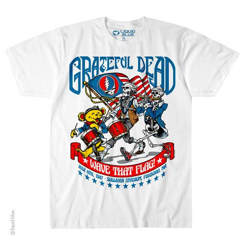 Grateful Dead Wave That Flag July T Shirt