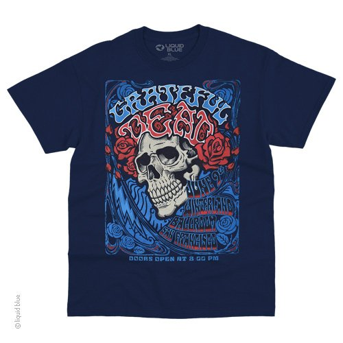 Mens Grateful Dead Bertha Ballroom T-Shirt