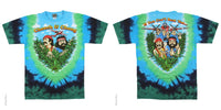 Cheech and Chong Field of Dreams Tie-Dye T-Shirt
