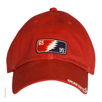 Grateful Dead 65-95 Red Baseball Hat