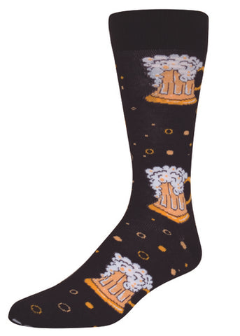 Beer Mug Mens Sock