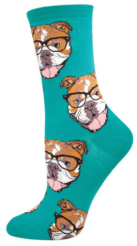Bulldogster Womens Socks