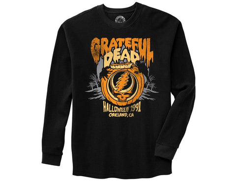Grateful Dead Halloween 91 Thermal Long Sleeve Shirt