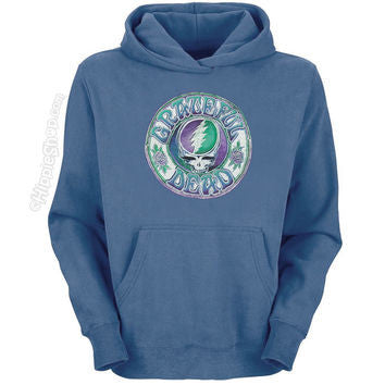 Grateful Dead Steal Your Face Batik Hoodie