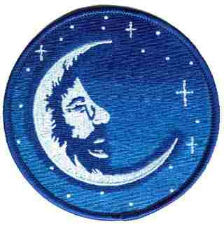 Jerry Blue Moon Patch