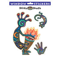 Kokopelli Shaman Sticker