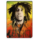 Bob Marley Legend Fleece Blanket