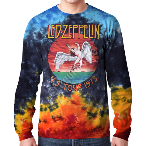 Men's Led Zeppelin Icarus 1975 Long Sleeve T-Shirt