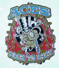 Aces Back To Back Hat Pin
