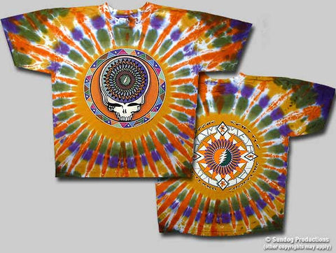 Grateful Dead Steal Your Feathers Tie Dye T-shirt