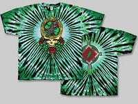 Grateful Dead Celtic Shamrock Tie-Dye T-Shirt