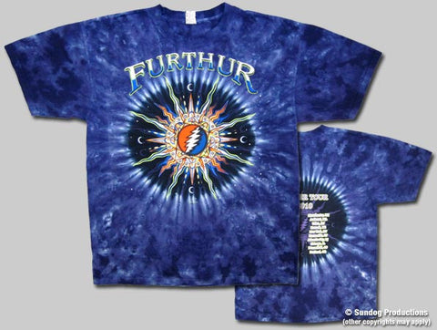 Grateful Dead Furthur Tie Dye T-shirt