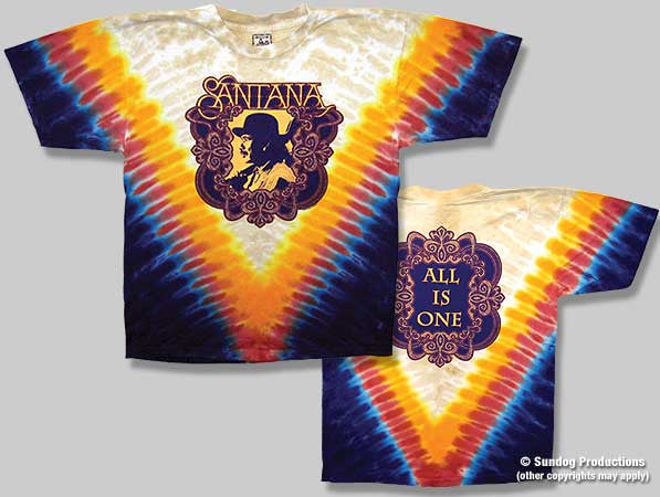 Santana All Is One Tie Dye T-Shirt