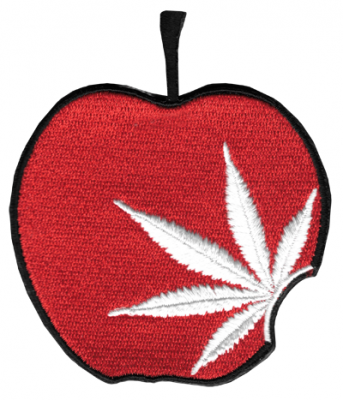 Red Apple Pot Leaf Patch