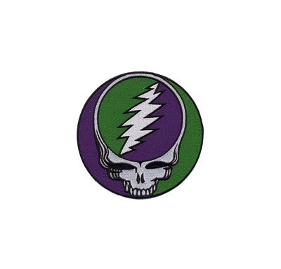Green and Purple Large Steal Your Face Patch