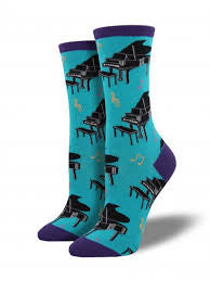 Baby Grand Piano Socks