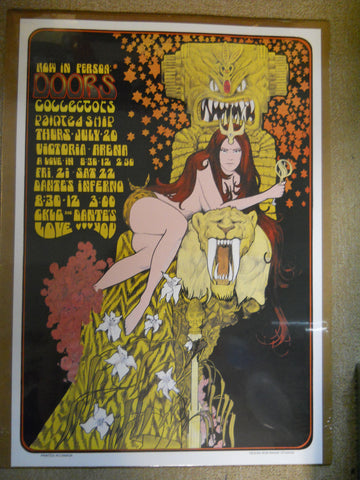 The Doors Art Nouveau Poster